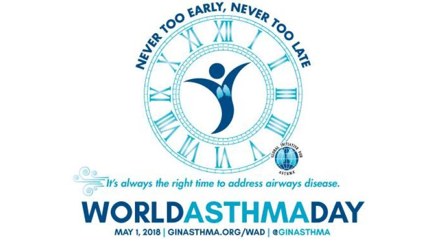 World Asthma Day Logo 2018